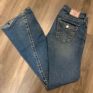 TRUE RELIGION | Disco Flare Jeans 24 | Vintage